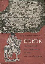 Šašek z Bířkova: Deník o jízdě a putování pana Lva z Rožmitálu a z Blatné z Čech až na konec světa, 1951