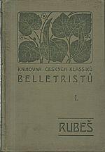 Rubeš: Sebrané spisy Fr. Jar. Rubše, 1906