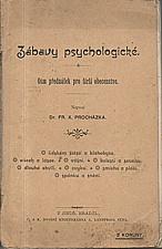Procházka: Zábavy psychologické, 1901