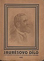 Jaures: Jauresovo dílo, 1919