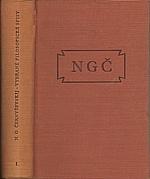 Černyševskij: Vybrané filosofické spisy. Sv. 1, 1953