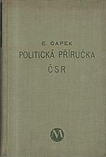 Čapek: Politická příručka ČSR, 1931