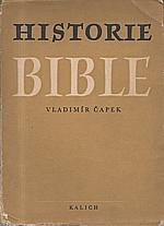 Čapek: Historie bible, 1952