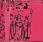 Kaplický: Táborská republika. 1-3, 1974