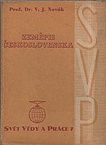 Novák: Zeměpis Československa, 1947