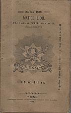 Turgenev: Rudin, 1879