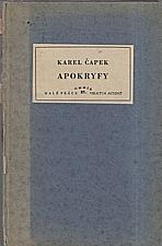Čapek: Apokryfy, 1932