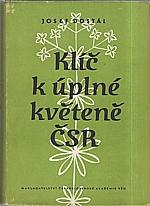 Dostál: Klíč k úplné květeně ČSR, 1954