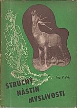 Fric: Stručný nástin myslivosti v 1200 otázkách a odpovědích, 1950