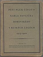 Nouzák: Pěší pluk č. 9. Karla Havlíčka Borovského v ruských legiích, 1924