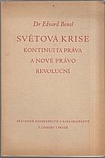 Beneš: Světová krise, 1946
