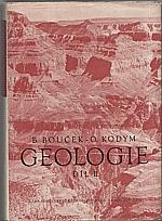 Bouček: Geologie. 2. díl, Historická geologie. Geologie Československa, 1963