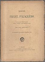 Palacký: Básně Františka Palackého, 1898