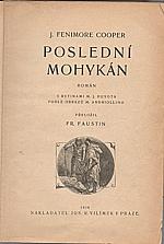 Cooper: Poslední Mohykán, 1926