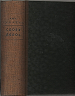 Vydržel: Codex-Agrol, 1935