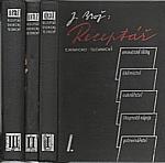 Brož: Receptář chemicko-technický. I.-III., 1947