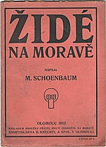 Schoenbaum: Židé na Moravě, 1912