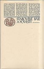 Mertlík: Starověké báje a pověsti, 1972