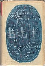Montaigne: Eseje, 1966