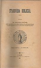 Mlčoch: Starověda biblická, 1888