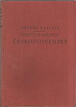 Kalista: Stručné dějiny československé, 1947