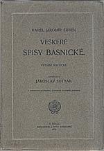 Erben: Veškeré spisy básnické, 1905