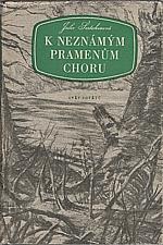 Šestakova: K neznámým pramenům Choru, 1954
