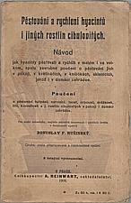 Růžinský: Pěstování a rychlení hyacintů i jiných rostlin cibulovitých, 1908