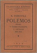 Vorovka: Polemos, 1926