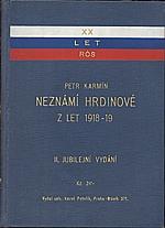Karmín: Neznámí hrdinové, 1937