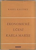 Kautsky: Ekonomické učení Karla Marxe, 1958