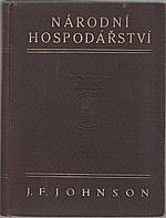 Johnson: Národní hospodářství, 1926