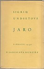 Undset: Jaro, 1930