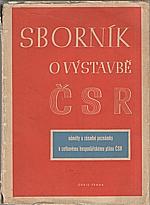 : Sborník o výstavbě ČSR, 1946