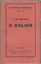 Bartoš: O kalich, 1939