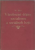 Beer: Všeobecné dějiny socialismu a sociálních bojů, 1926