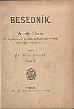 Gallat: Besedník - Veselý Čech : Sbírka původních kupletů, duett, tercett, kvartett, komických výstupů atd. Část 2, 1901