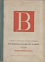 Dyntar: Technologie ruční sazby. 2. díl, 1957