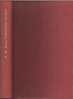 Peck: Hospodářské myšlení a jeho institucionální pozadí, 1937