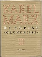 Marx: Rukopisy