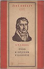 Hegel: Úvod k dějinám filosofie, 1952
