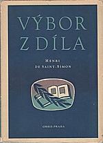 Saint-Simon: Výbor z díla, 1949