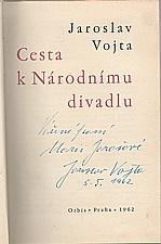 Vojta: Cesta k Národnímu divadlu, 1962