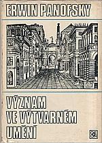 Panofsky: Význam ve výtvarném umění, 1981