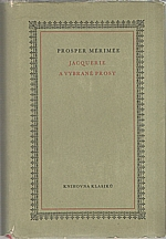 Mérimée: Jacquerie a jiné vybrané prózy, 1960