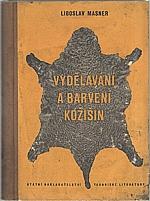 Masner: Vydělávání a barvení kožišin, 1954