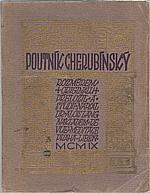 Angelus Silesius: Poutník cherubínský, 1909