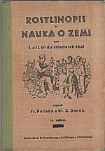 Polívka: Rostlinopis a nauka o zemi pro I. a II. třídu středních škol, 1938