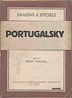 Vymazal: Portugalsky snadno a rychle, 1898