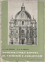 Blažíček: Dominikánský kostel sv. Vavřince v Jablonném, 1948